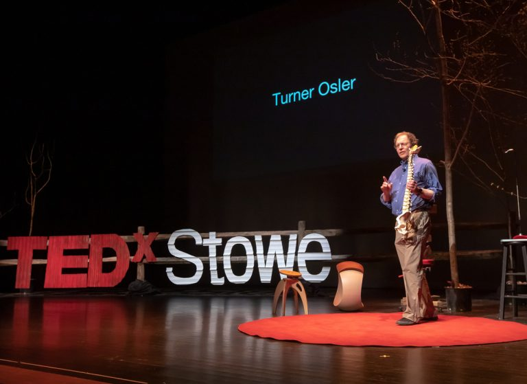 Dr. Turner Osler TEDx Stowe Vermont Active Sitting