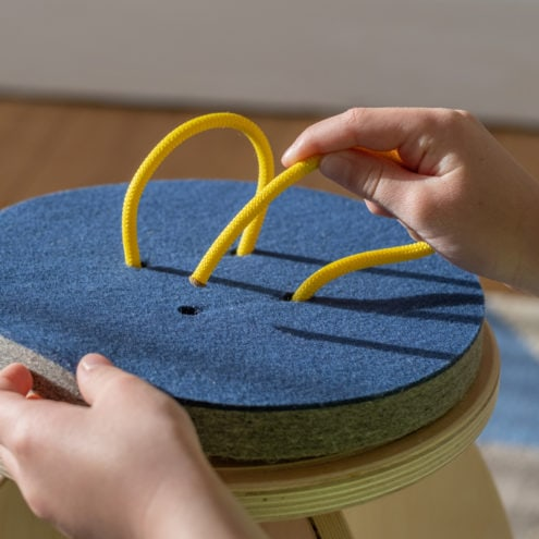 QOR360 ButtOn Chair - Active Chair for Kids