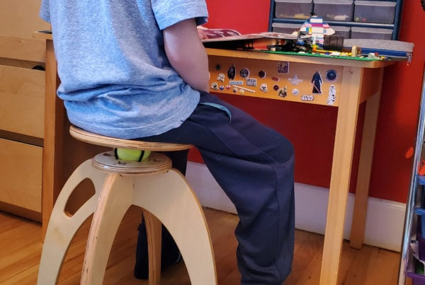ButtOn chair to keep kids active while sitting
