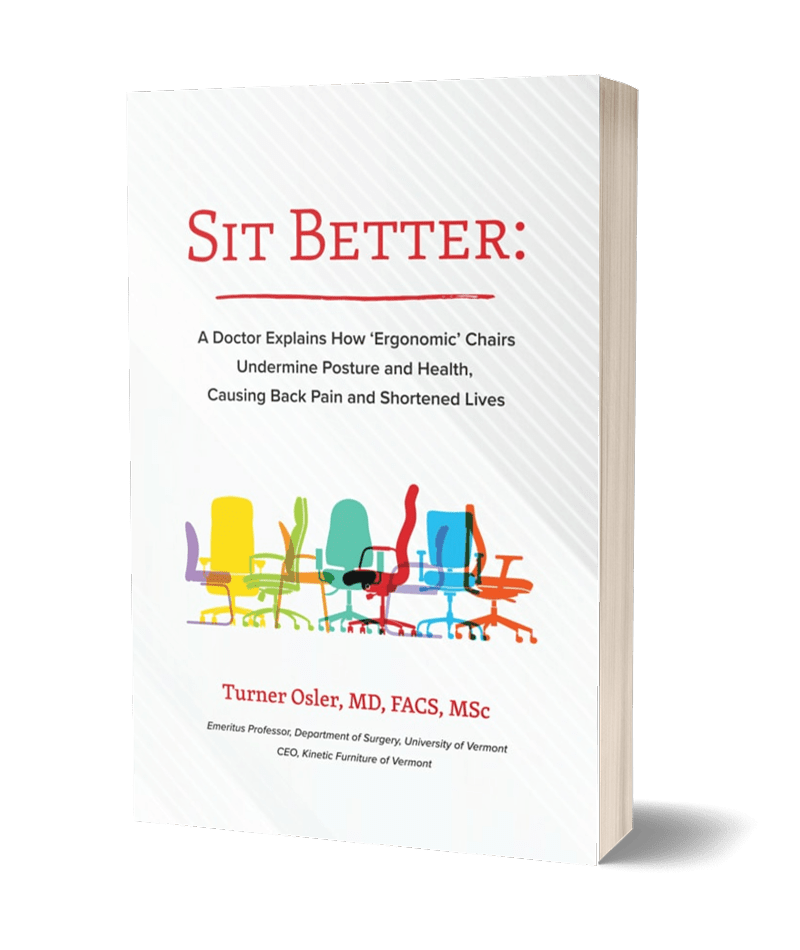 Sit Better by Dr. Turner Osler book cover